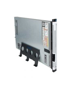 1U Universal Rack-to-Tower Conversion Kit - Side view with 1U server