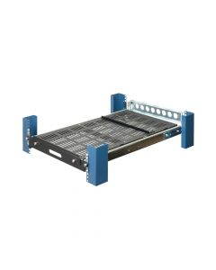 Front view - Sliding Rack Mount Shelf with CMA