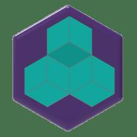Hexagon badge