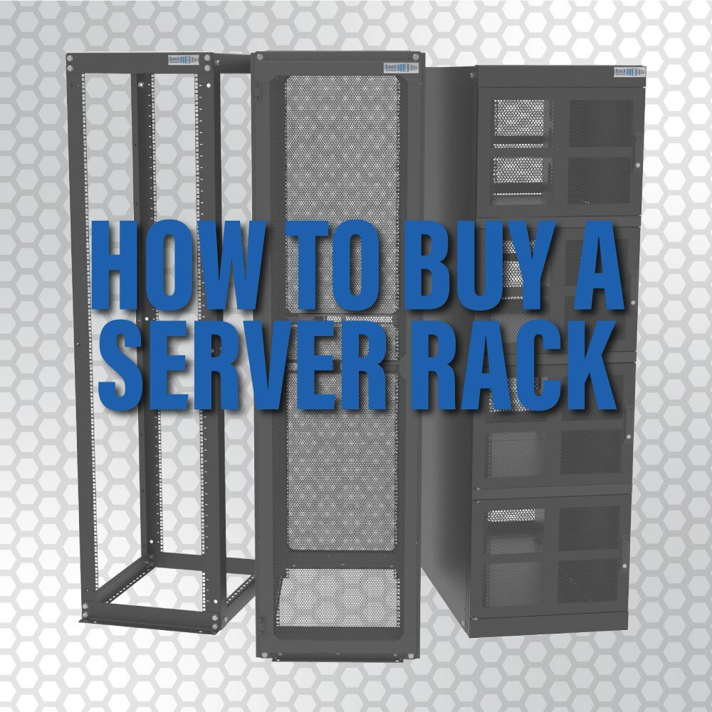 Everything you might need to know before purchasing a server rack and the mounting equipment to go along with it